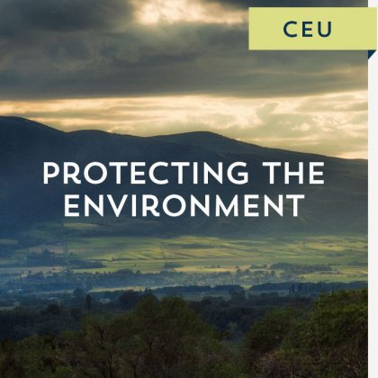 Protecting the Environment CEU