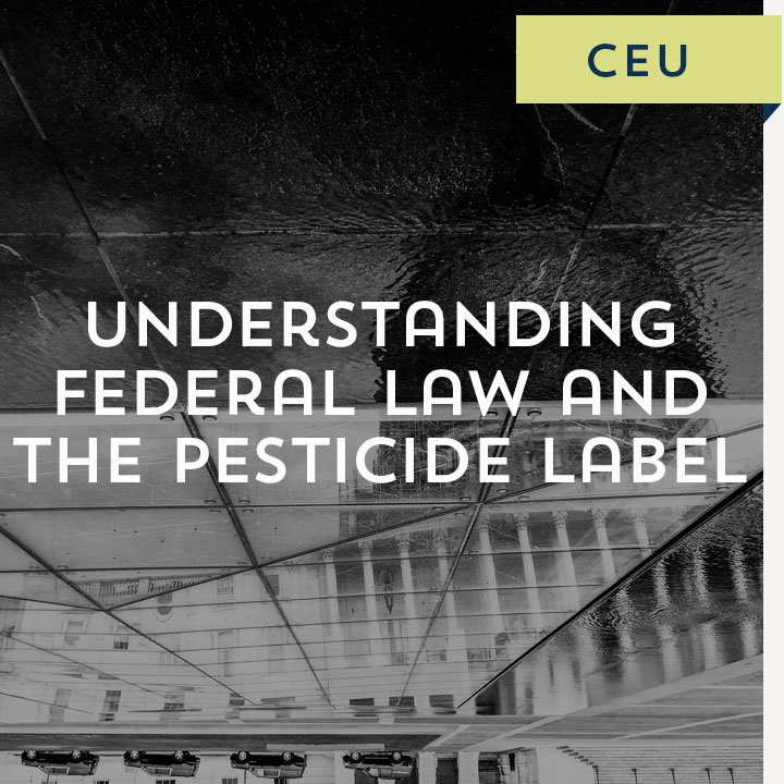 Enjoyable Understanding Federal Law And The Pesticide Label Download Free Architecture Designs Intelgarnamadebymaigaardcom