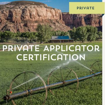 Private Applicator Certification
