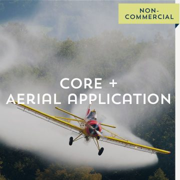 Core + Aerial Application: Non-Commercial