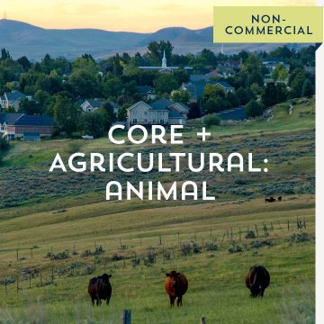 Core + Agricultural: Animal - Non-Commercial