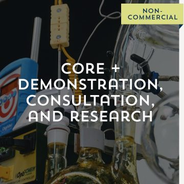 Core + Demonstration, Consultation, and Research- Non-Commercial