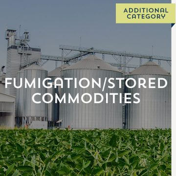 Fumigation/Stored Commodities - Additional Category
