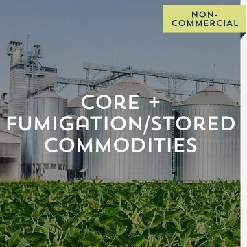 Core + Fumigation/Stored Commodities - Non-Commercial