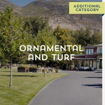 Ornamental and Turf - Additional Category