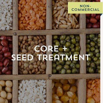 Core + Seed Treatment - Non-Commercial