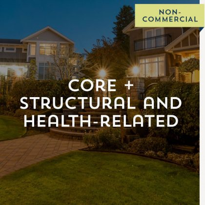 Core + Structural and Health-Related - Non-Commercial