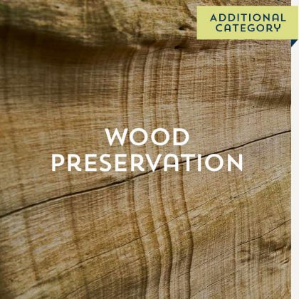 Wood Preservation - Additional Category