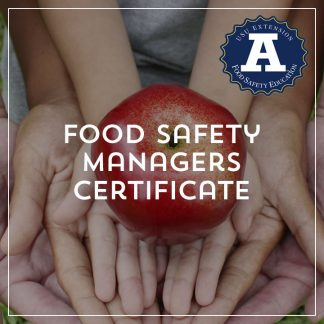 Food Managers Safety Certificate