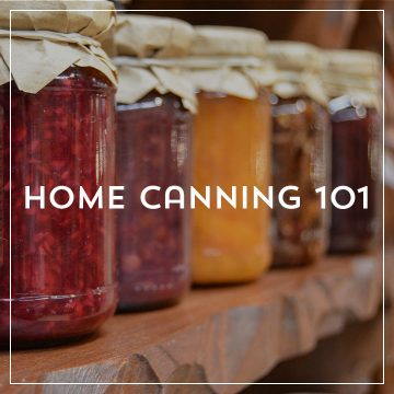 Home Canning 101