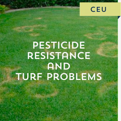 Pesticide Resistance and Turf Problems